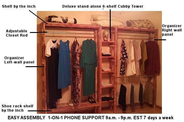 Incroyable Home / Cedar Closet Organizers / Cedar Closet Organizer