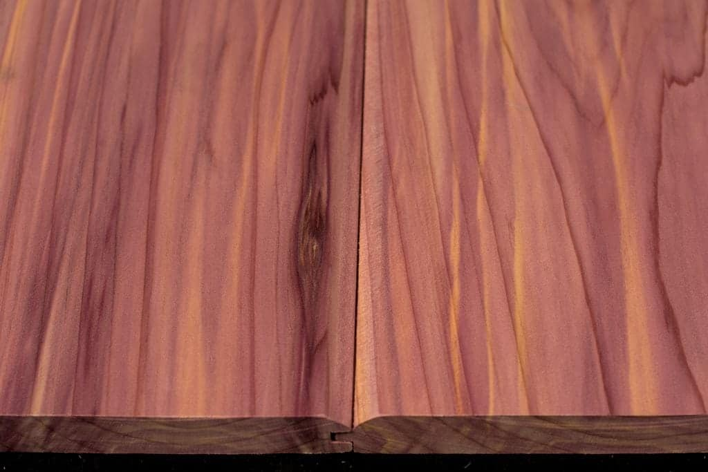 1 2 Thick Cedar T Amp G Flooring Redcedarcut4u